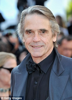 'Flag-waver': Oscar-winning actor Jeremy Irons wants to see a ban on non-recyclable plastic bags