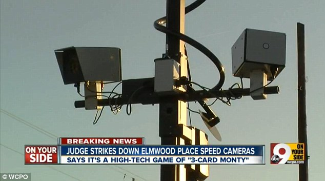 Tolling: Since installing two traffic cameras in Elmwood Place 6,600 citations have been collected in the first month equating to three times the number of village residents