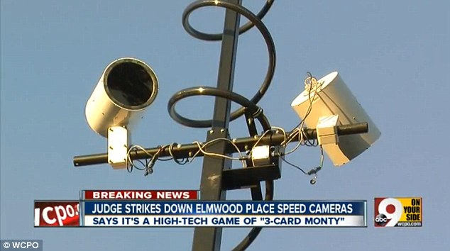 Adding up: In the first month of their use the cameras fined $1.5 million to drivers from $105 citations