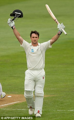 Debut to remember: Rutherford reaches three figures on day two in Dunedin
