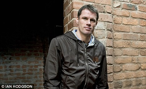 Stepping aside: Carragher will call it a day at the end of the season
