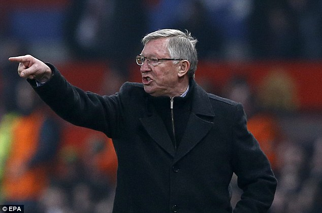 Fury: Sir Alex Ferguson has vented his anger at the official