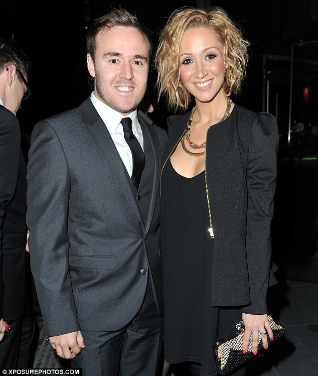 Baby on board: Corrie star Alan Halsall and his pregnant wife Lucy-Jo Hudson