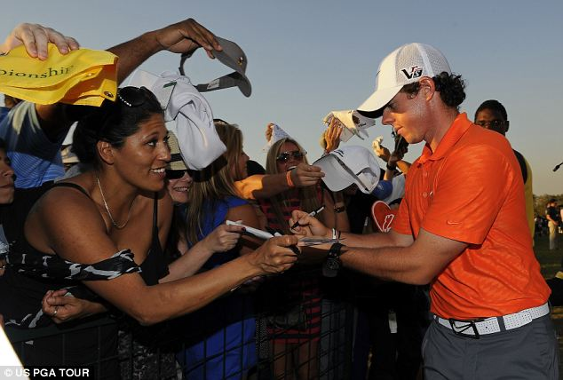 Future's bright: The swagger has began to return for Rory McIlroy
