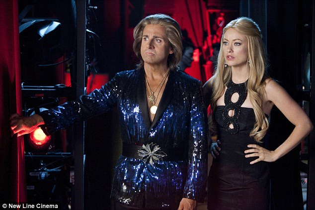 Now you see it, now you don't: Her film The Incredible Burt Wonderstone, which opened a month ago, has been universally panned by both critics and audiences