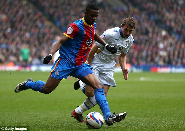 Premier League ambitions: Crystal Palace now lie only a point behind second placed Watford