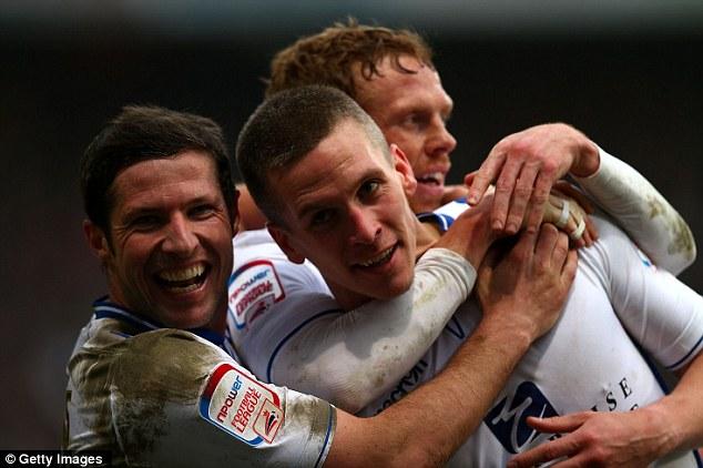 Unlucky loser: Former Norwich striker Steve Morrison had scored twice to give Leeds a 2-1 lead