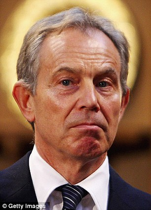 Wealth: Tony Blair has gone on to become a multi-millionaire, largely thanks to his U.S. contacts