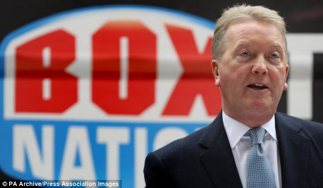 Fighting back? Frank Warren is to sue Ricky Burns for 'substantial damages'