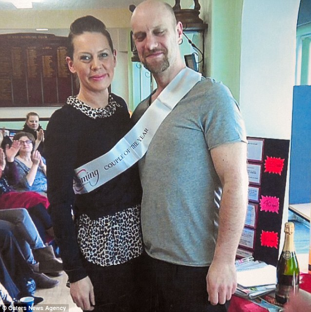 As well as using Wii the competitive couple joined Slimming World and won the title of 'couple of the year' for their joint 14 stone weight loss