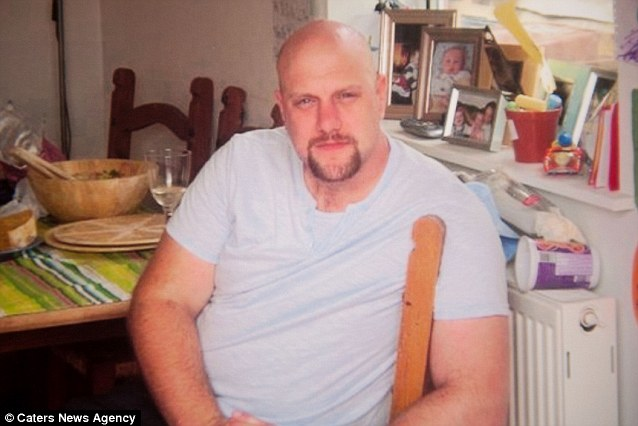 Pete, who was dianosed with non-Hodgekins Lymphoma when he was 23, suffering a heart attack in 2006 and a relapse of the cancer in 2009, says he began to eat loads when he came out of hospital