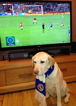 Royals through and through: Reading fan Cassie