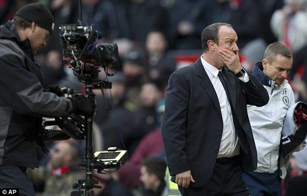Gamechanger: Benitez's substitutions helped Chelsea draw against United