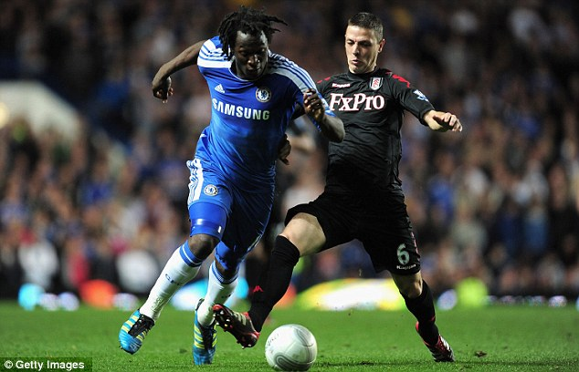 Lack of opportunities: The Belgian was limited to four starts during his first season at Chelsea