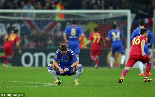 Flop: Fernando Torres hasn't scored a Premier League goal in 2013 for Chelsea