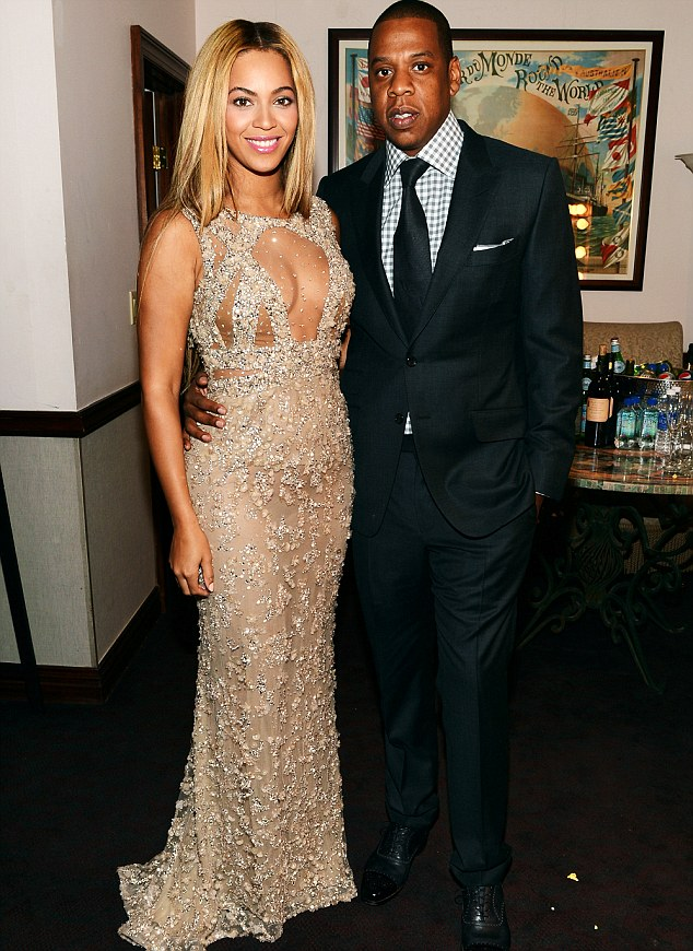 Power couple targeted: Beyonce and Jay-Z are among the celebs whose financial information has been posted on the website