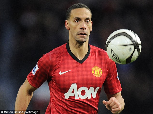 Heroes: Ferdinand said footballers are overpaid compared to members of the armed forces