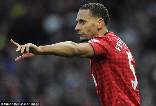 Leading the way: Ferdinand believes United can kick on and win a league and cup double this season