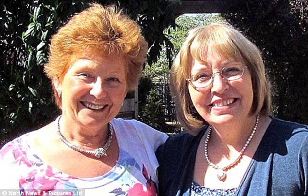 Together again: The sisters' discovery also brought another shock - Helen was in fact two years older than she thought