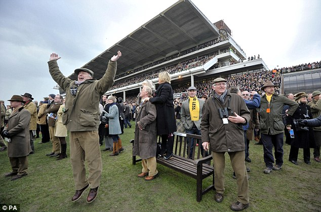 Punters' pal: Back In Focus was a popular winner as the bookies took another bashing