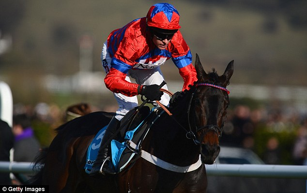 Unbeatable: Sprinter Sacre cruised home in the Queen Mother Champion Chase