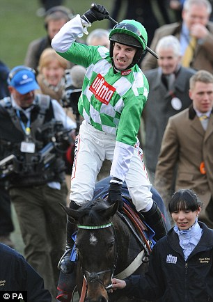 Small order: Medinas is not a big horse but Will Hutchinson produced a huge performance to win