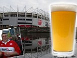 Middlesbrough fans to get free pint new season ticket deal