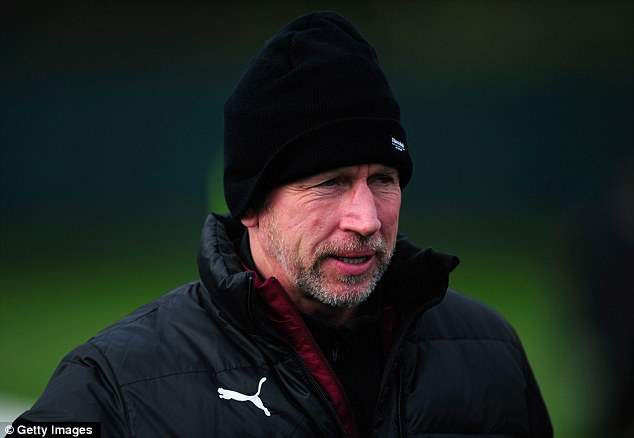 Glass half-full: Newcastle boss Alan Pardew is confident of his side progressing in the competition