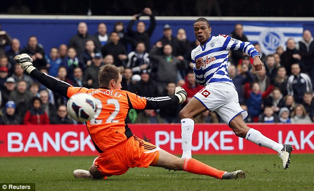 Big buy: Queens Park Rangers spent £8m on Loic Remy during the January transfer window