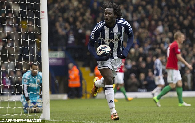 On fire: Romelu Lukaku is thriving during his loan spell at West Bromwich Albion
