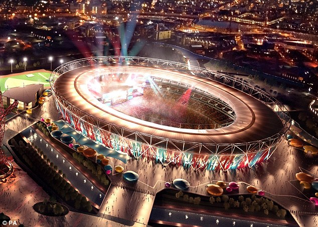 Sharing costs: Gold said a club would need to provide financial support for athletics plans at the Olympic Stadium