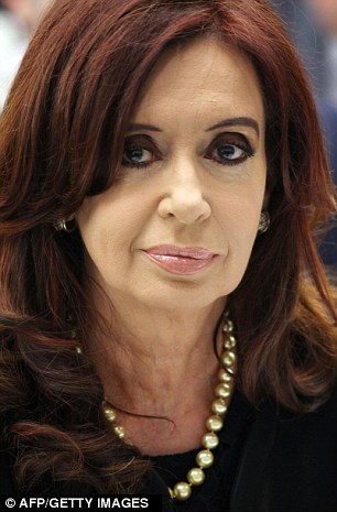 Kirchner added that God and the Virgin would also wish just causes to sometimes triumph