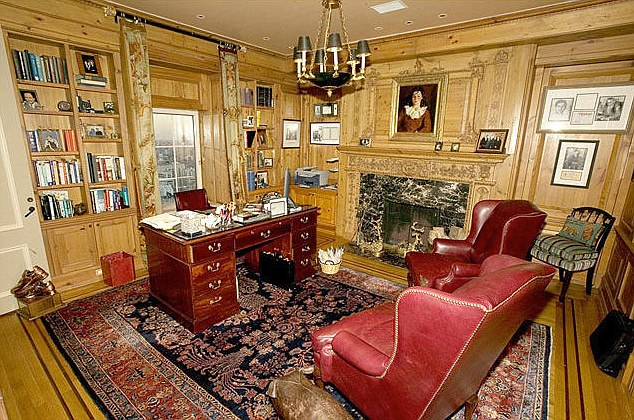 Study: The home is 12,000 square foot and former neighbors included Elizabeth Taylor and Yves Saint Laurent