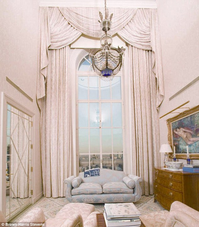 Open house: The property failed to sell for a much lower price of $70million in 2004