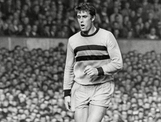 Hammer time: Sir Geoff Hurst won the FA Cup and European Cup Winners' Cup with West Ham in the 1960s