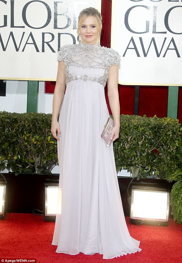 Raring to go: Bell, pictured at the Oscars last month, is keen to return to the role that made her famous
