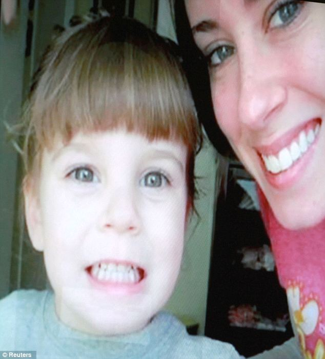 Notorious: Anthony became nationally notorious after she was accused of murdering Caylee, whose body was found six months after she went missing in June 2008. The pair are pictured together here
