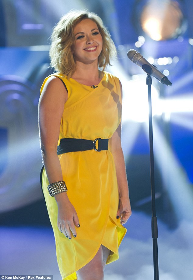 New music style: Charlotte, pictured in April 2011, went from being a classical singer to being a pop star and is now a singer-songwriter