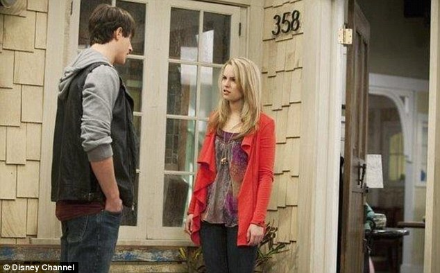 Screen star: Bridgit stars as Teddy Duncan in hit Disney Channel show Good Luck Charlie
