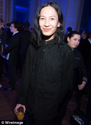 Stiff competition: Alexander Wang (left), who now also designs for Balenciaga, is in the running for womenswear designer of the year; as is Marc Jacobs (right), who also designs for Louis Vuitton