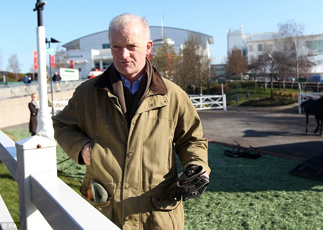 Already? Trainer Willie Mullins has already bagged five wins at the Gold Cup this week
