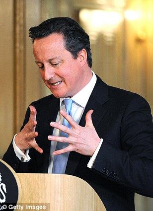 David Cameron was almost Byronic, impulsive, slapping the lectern