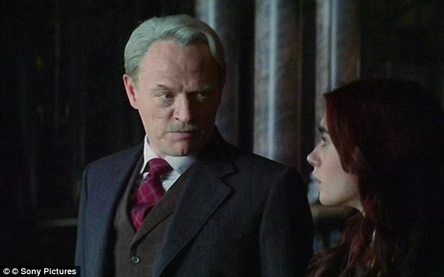 British: The cast is made up from a number of UK actors including Mad Men star Jared Harris who plays Hodge Starkweather in the film.