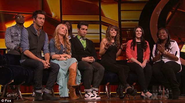 Waiting for the cut: The finalists line up to hear if they've made it through to next week