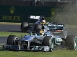 Formula One - Australian Grand Prix: Lewis Hamilton has mixed fortunes while Sebastian Vettel sets pace