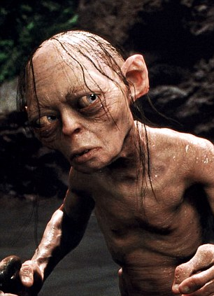 Gollum in 'The Lord Of The Rings: The Two Towers