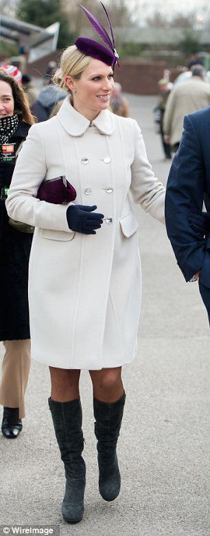 Zara Phillips arrives for day one of the 2013 Cheltenham Festival