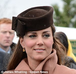 Kate recycled a Lock & Co. hat with bow detail for day four