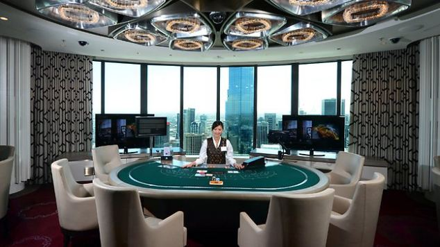 they believe that a helper gained remote access to the venue's security camera and were then able to tell the high roller how to bet based on other players' hands of cards.