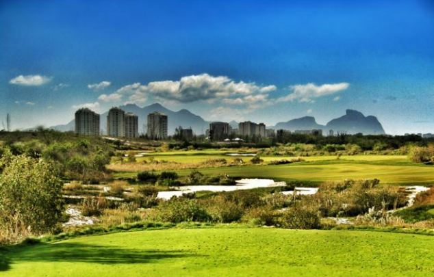 Artist's impression: Golf will be played at the Rio 2016 Olympics